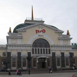 Железнодорожные вокзалы Алексеевского